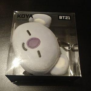Exclusive BT21 Koya Keychain